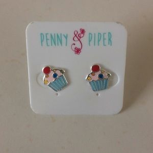 Other - PENNY&PIPER Cupcake Earrings NEW!
